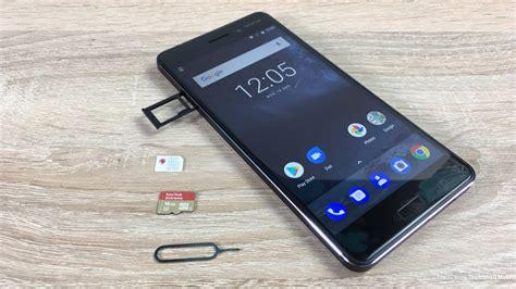 Conector Handphone Sim Card 6 Nokia nokia 6 insert sim and sd card