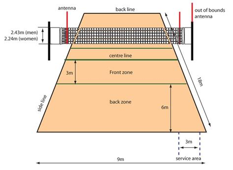 backyard volleyball court dimensions the 25 best ideas about volleyball court dimensions on