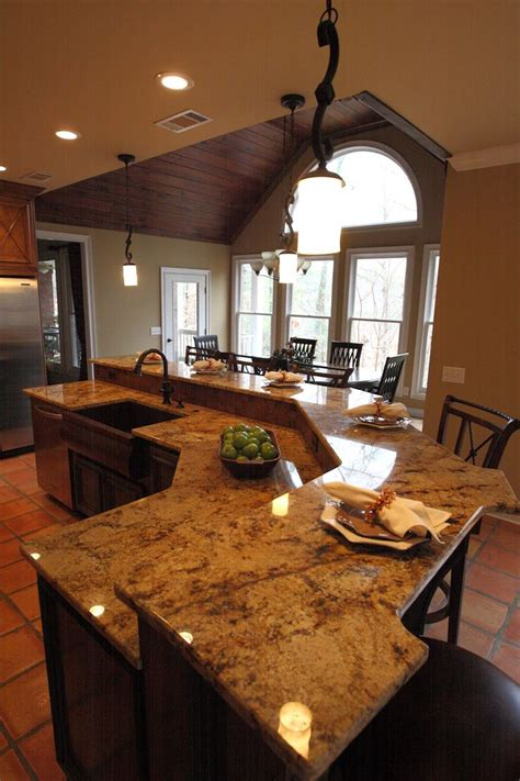 granite kitchen island with seating kitchen islands with seating large island with seating prep area and sink for the house