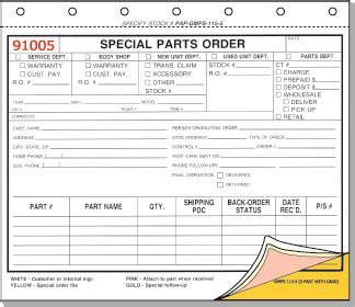 parts order form special parts order form gmps 115 5 5 part