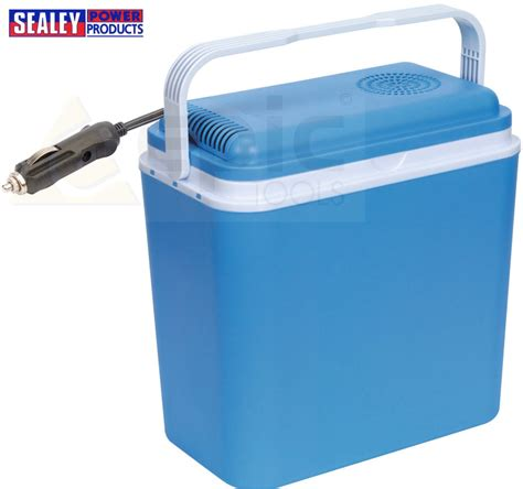 cool box sealey 22l litre electrical coolbox 12v dc car electric