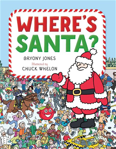 where s santa book by bryony jones chuck whelon