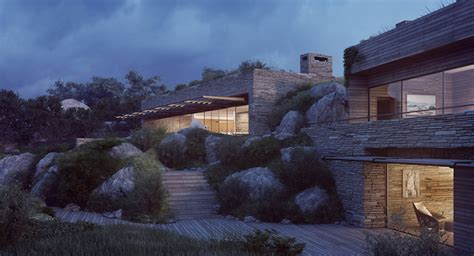 corsican mountain view villas visualized futura home decorating
