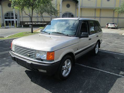 range rover 1999 1999 range rover 4 6 hse sport utility 4x4 fl truck