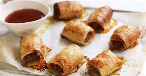 printable sausage roll recipes best ever homemade sausage rolls