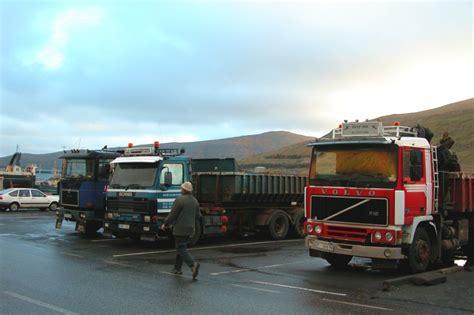 truck island file scania and volvo trucks in the faroe islands jpg