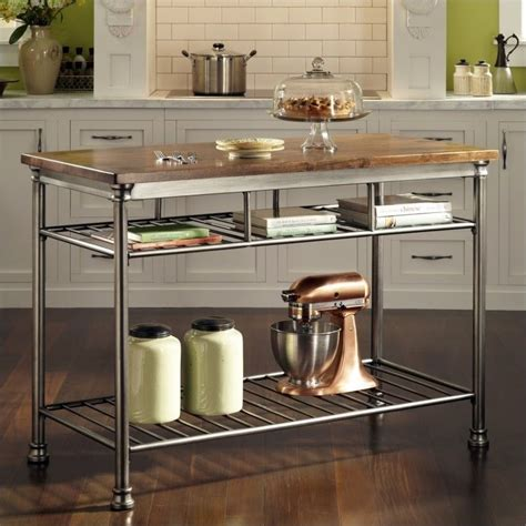 Orleans Kitchen Island | home styles the orleans island kitchen cart ebay