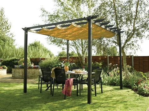diy backyard gazebo diy outdoor canopy make your own outdoor canopy