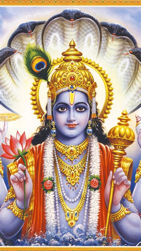 lord krishna themes mobile9 download mighty lord vishnu 1080 x 1920 wallpapers