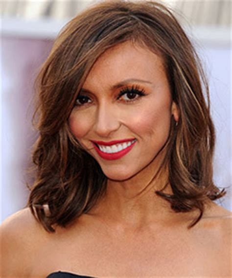 giuliana rancic debuts new golden brown hair color at the new hairstyle on pinterest long bobs choppy bobs and