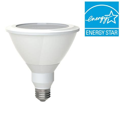 Ge 90w Equivalent Bright White 3000k Par38 Dimmable Led Par38 Led Flood Light Bulbs