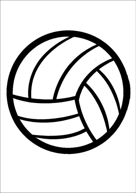 volleyball outline printable 2009 january