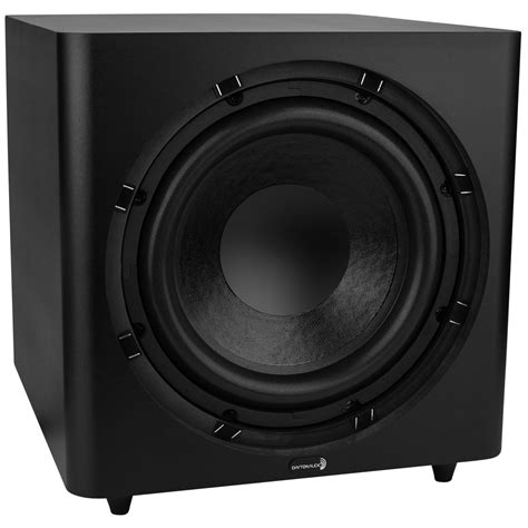 dayton audio sub 1200 12 quot 120 watt powered subwoofer