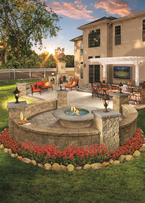 backyards with pits would you enjoy this outdoor living space in your backyard