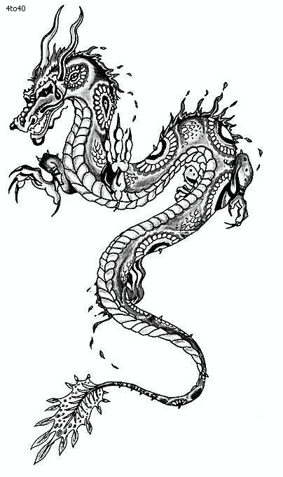 chinese dragon coloring pages easy 34 best images about chinese dragon tattoo on pinterest