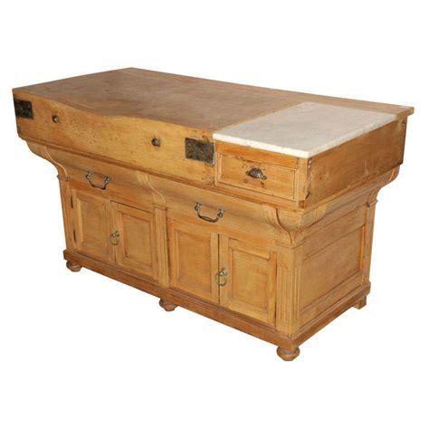 antique butcher block table x jpg