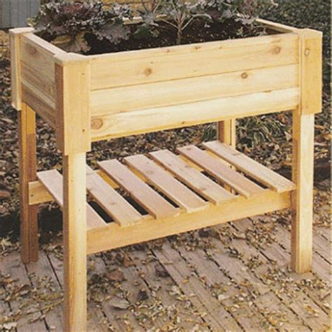 highlander raised wooden garden planters 100