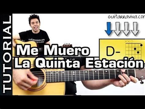 tutorial gitar rude como tocar el sol no regresa en guitarra de la quinta e