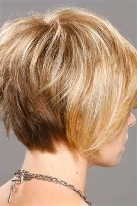 back views of choppy layered bob haircuts 22 great short haircuts for thin hair 2015 pretty designs