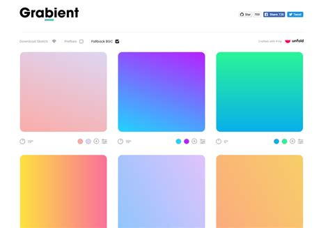 pattern gradient generator gradients in web design trends exles resources