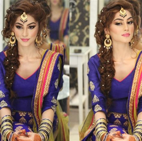 pic braids styles pakistani and indin new pakistani bridal hairstyles to look stunning