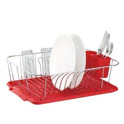 large metal wire dish rack with drain board ebay