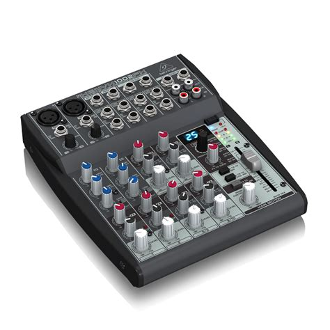 Mixer Xenyx 1002fx behringer xenyx 1002fx 10 channel mixer with fx pssl