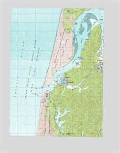 winchester bay or topographic map topoquest