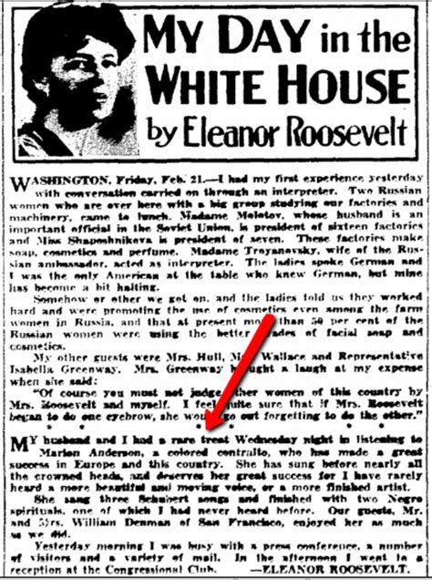 s day articles eleanor roosevelt s my day newspaper column a diary