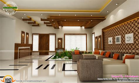 home interior design living room modern and unique dining kitchen interior kerala home