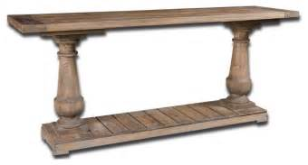 Stratford Coffee Table Uttermost Stratford Rustic Console Table Side Tables And