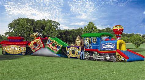rent circus train kiddie obstacle course cedar rapids