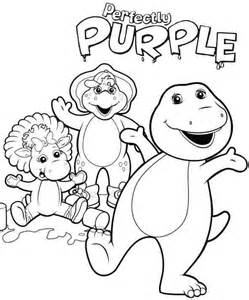barney coloring pages toddlers img 715511 gianfreda net