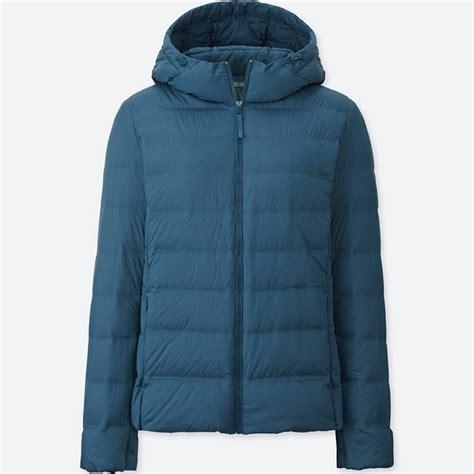 Jaket Wanita Light Blue uniqlo jaket parka ultra light seamless