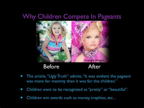 consequences of being sectioned effects of child beauty pageants