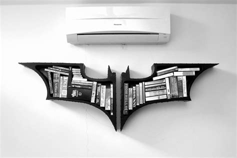 Buy Batman Bookshelf batman bookshelf take my paycheck shut up and take my money the coolest gadgets