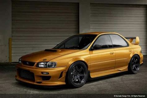 Gc8 Gold Subaru Impreza Wrx Sti Gc8 Gf8 Pinterest Gold