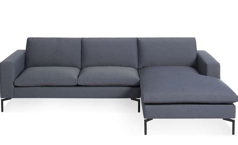 blu dot standard sofa new standard sofa with chaise hivemodern com