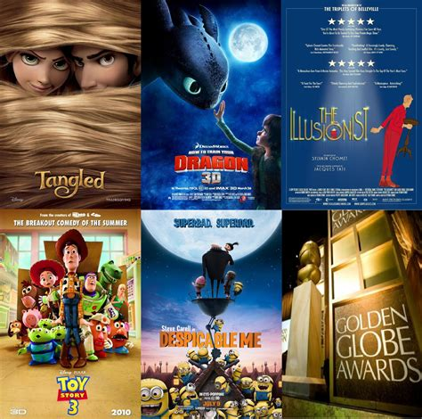 best animation 13 predictions for the 68th golden globe awards