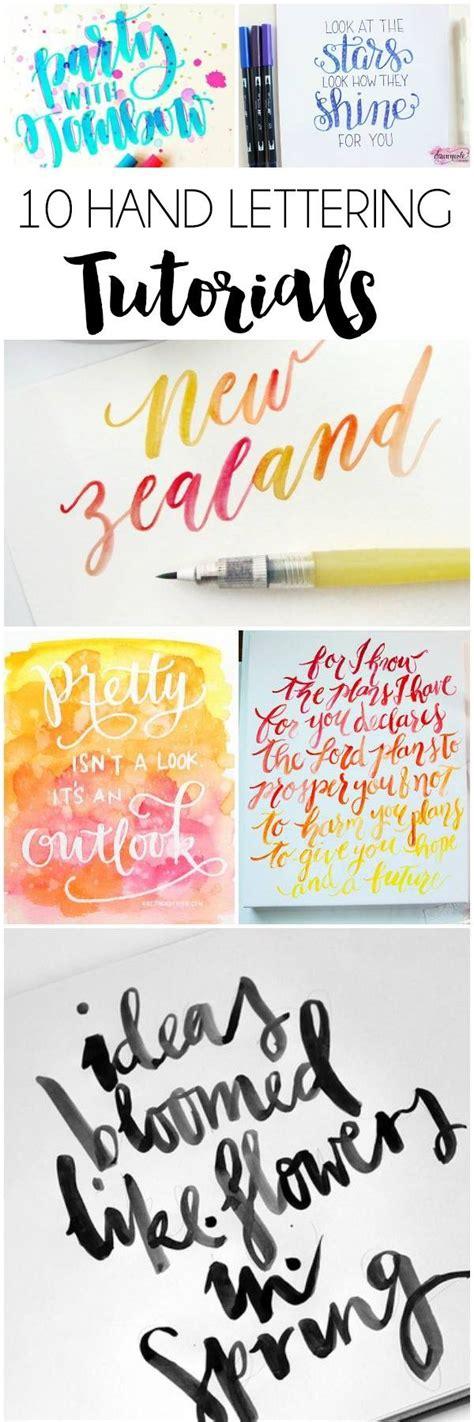 tutorial caligrafia lettering 17 mejores ideas sobre fuentes de escritura a mano en