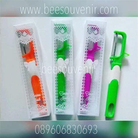 Souvenir Pisau Buah souvenir pernikahan pisau buah garis putih