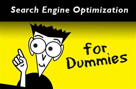 Seo For Dummies by Search Engine Optimization For Dummies