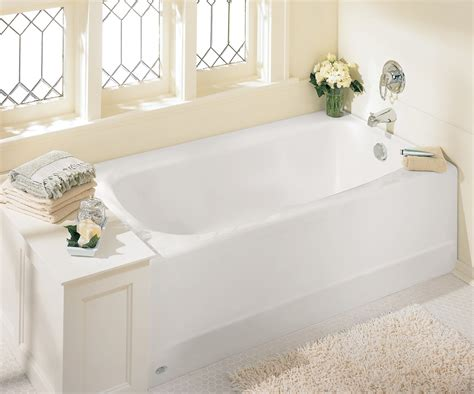 six foot bathtub american standard 2461 002 020 cambridge 5 feet bath tub with right hand drain white