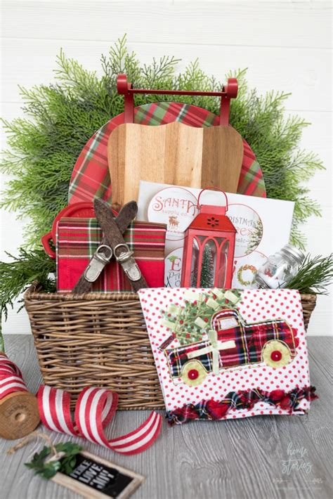 creative  luxe holiday gift basket ideas  pier