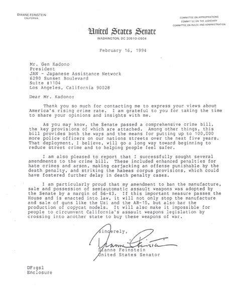 Award Letter Translated To Thoughtful Letters From The Former Presidents Of The United States Bush Clinton Regan For Jan