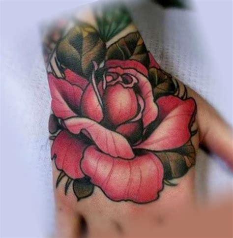 роза на кисти руки фото тату