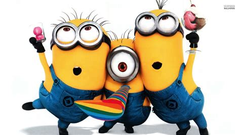 wallpaper cartoon minion despicable me minions backgrounds wallpaper cave