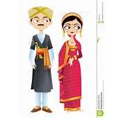 Wedding Couple Of Karnataka Stock Vector  Image 30666656