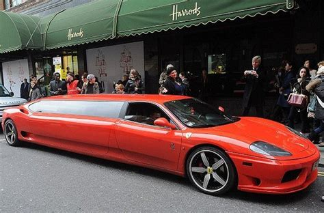 limousine ferrari ferrari 360 modena limousine the perfect ride for santa