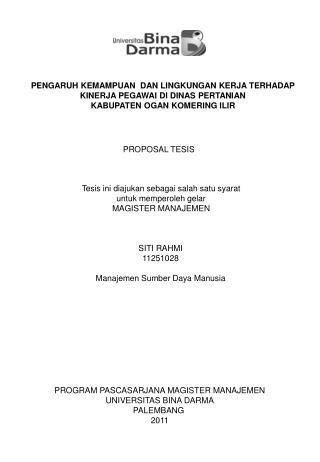 tesis magister akuntansi universitas indonesia ppt universitas putra indonesia yptk magister